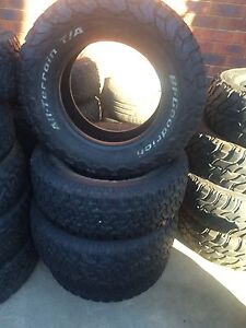 4 BFGOODRICH tyres 265/70 r17 Meadow Heights Hume Area Preview