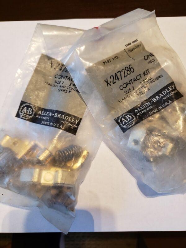 Allen Bradley - X-247286 Contact kit size 2 3 pole