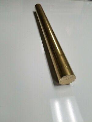 1 Diameter X 12-long 360 Brass Round Bar--1 Dia 360 Brass Rod Lathe Stock