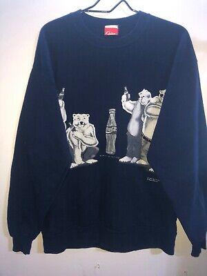 Vintage Coca Cola Bear Sweatshirt