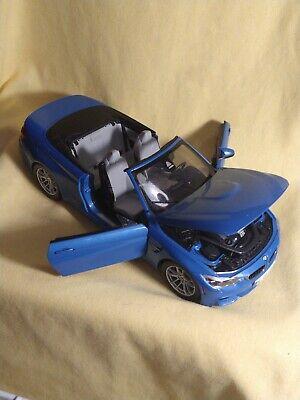 1/18 Dealer Edition BMW M4 F82 (Blue) Diecast Car Model