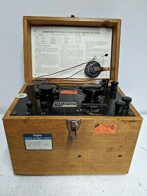 Leeds Northrup Potentiometer Cased