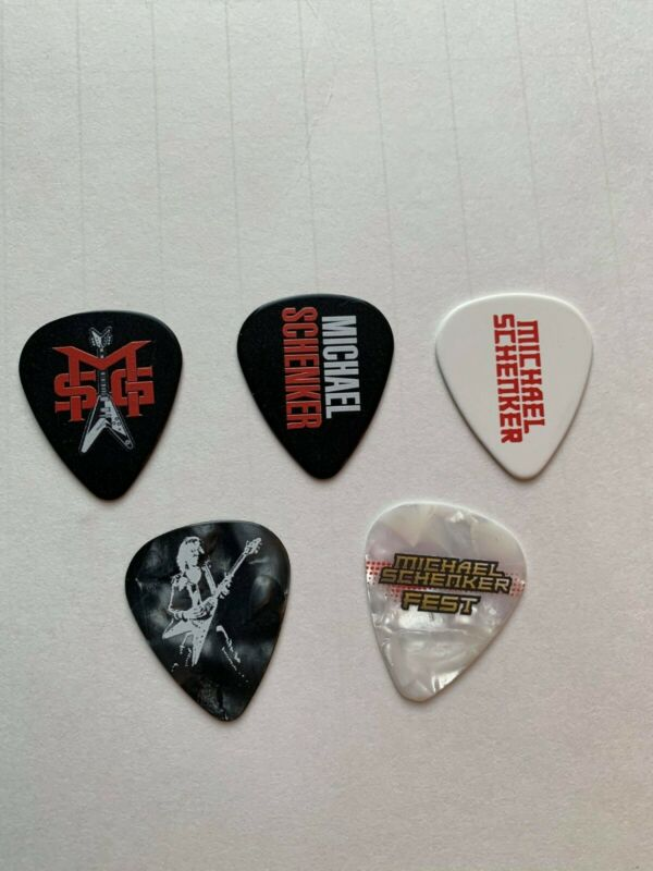 Michael Schenker Guitar Tour Picks MSG UFO Scorpions