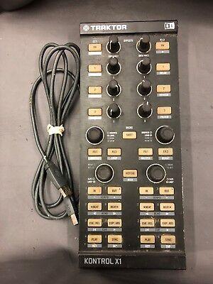 NATIVE INSTRUMENTS NI TRAKTOR KONTROL X1 MK1 - DJ USB CONTROLLER, No Software