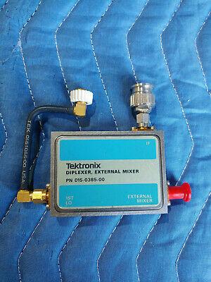 Tektronix 015-0385-00 Diplexer External Mixer