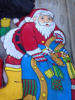 Christmas lights / Christmas santa - to decorate your whole house Torbanlea Fraser Coast Preview