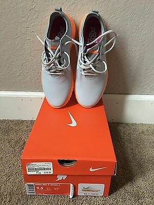 NIKE FI IMPACT 2 Shoes Sneakers Spikeless Womens 9.5 Platinum Edition