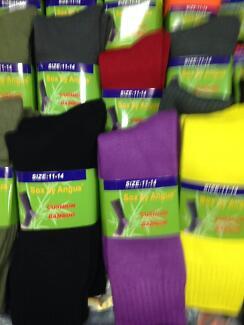 Bamboo socks heavy duty pk of 3pairs $30