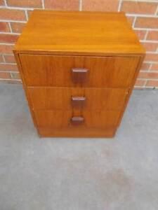 Vintage Danish Teak Bedside Table Cranbourne East Casey Area Preview