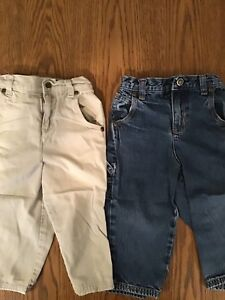 2 PAIR - SPROCKETS BRAND - PANTS, 24 MONTH