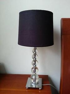 Pair of stylish bedside lamps Wollstonecraft North Sydney Area Preview