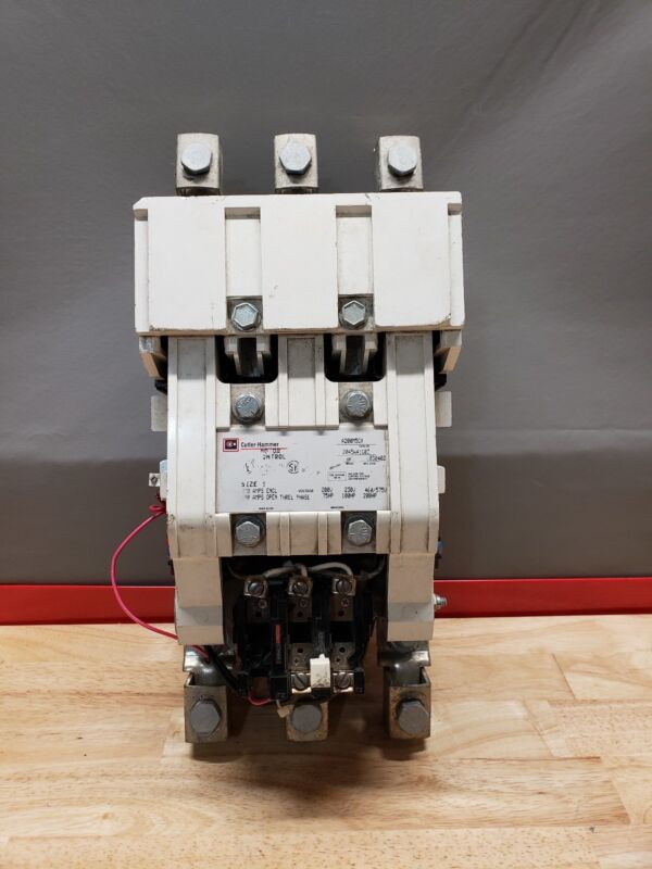 CUTLER HAMMER A200M5CX SIZE 5 MOTOR CONTROL STARTER 480V COIL ☆USED☆