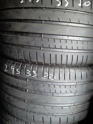 NICE USED TIRES 295-35-20 MICHELIN