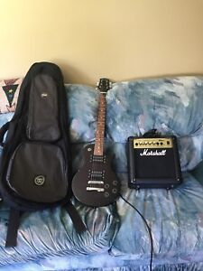Guitar  amp and case