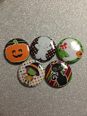 15 Halloween Cabochon Pumpkin Decoden Kawaii  1