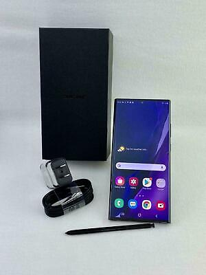 Samsung Galaxy Note 20 Ultra 5G SM-N986U1 128GB Black! UNLOCKED! NEW! FREE SHIP
