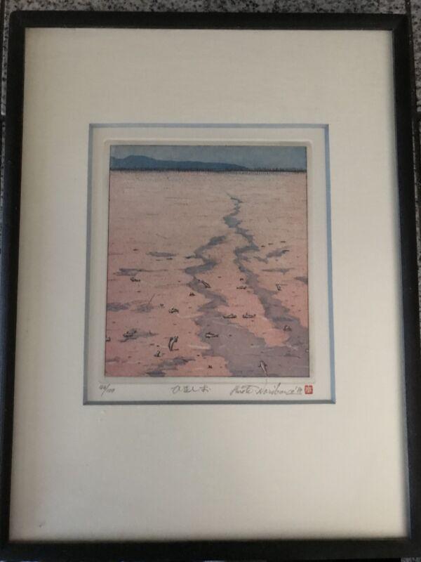 Hiroto Norikane Japanese Etching Print 43/100