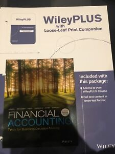Financial Accounting LOOSE LEAF Textbook