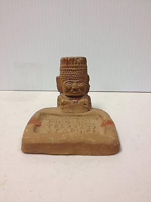 Acapulco Clay Tiki/Mayan God Ashtray