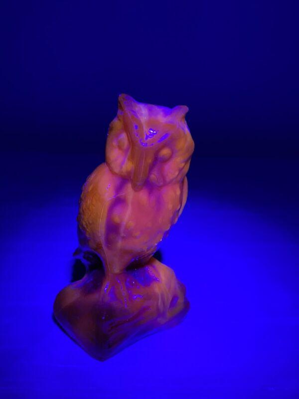 Vintage Boyd Glass Owl