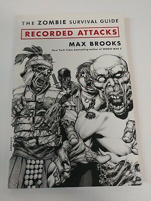 Alternative  Recorded Attacks The Zombie Survival Guide GN SC VF+ Bagged