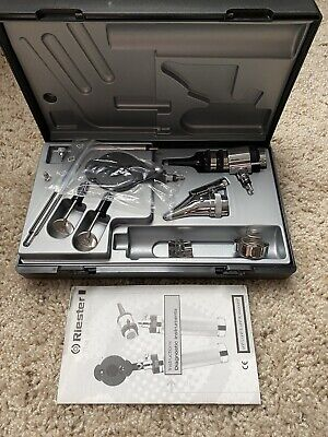 Riester 2050 Diagnostic Set - Otoscope Ophthalmoscope For Parts