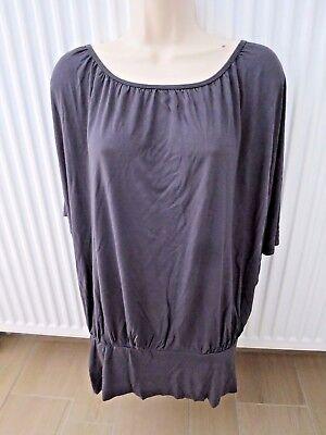 NEUVE blouse large T-shirt gris H&M M 38