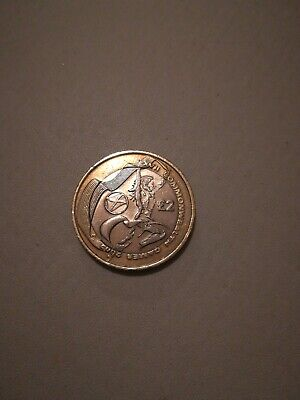 2002 Commonwealth Games £2 Coin Two Pound Coin SCOTLAND Circulated