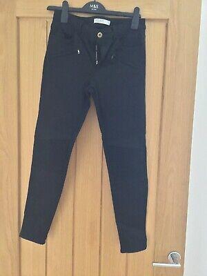 Zara Ladies Black Jeans Sike 10
