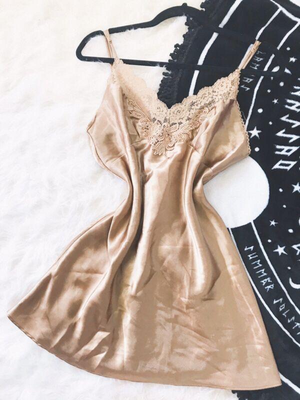 Vintage Victorias Secret Slip Dress 1996