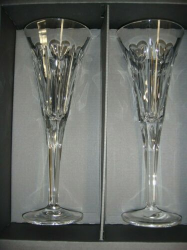 Waterford Crystal The Millennium Collection Toasting Flutes.-2nd Toast Love