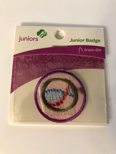 Girl Scout JUNIORS Badge ~ DETECTIVE ~ new - made in china