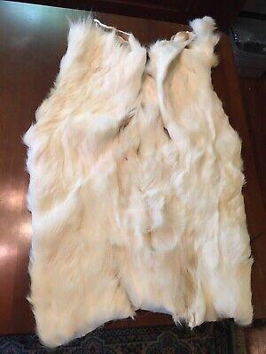 Fallow deer rug skin hide soft long hair fur taxidermy medical healing cushion