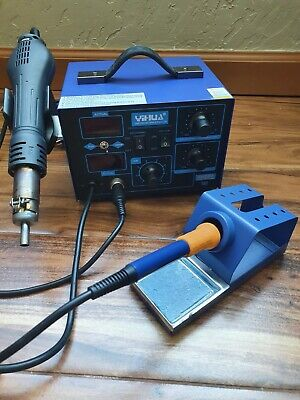 Yihua 862d Soldering And Hot Air Rework Station