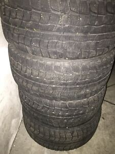 Dunlop Graspic DS-1 winter tires & 5x110 rims
