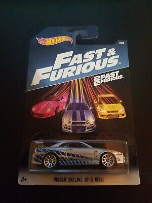 Hot Wheels Nissan Skyline GT-R (R34) Fast and Furious