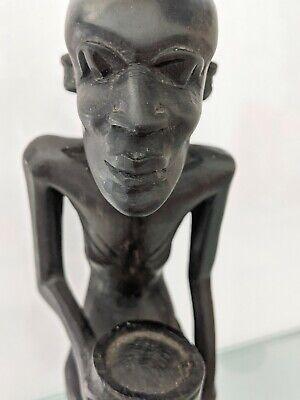 AFRICAN TRIBAL EBONY  WOOD FIGURINE. SIZE 21X8X5.5 CM