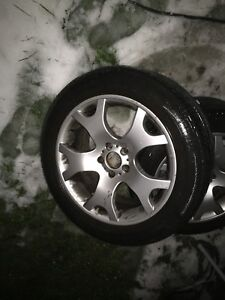 BMW X5 mags with summer tires