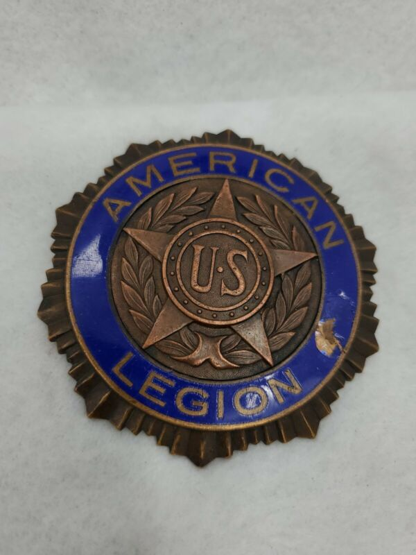 Vintage American Legion Medal Screw-Back 1919