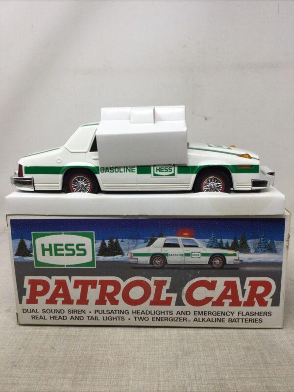 1993 Hess Truck (Patrol Police Car)NEW In Box