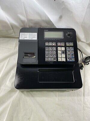 Casio Sm-t274 Cash Register Cash Drawer Receipt Printer Key Tested Works Great