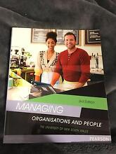 Managing Organisations and People MGMT1001 Textbook Hunters Hill Hunters Hill Area Preview