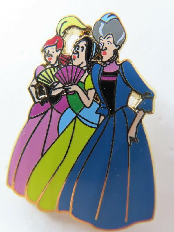Disney Pin ACME Trading Lady Tremaine & Stepsisters Cinderella LE 200 #132897