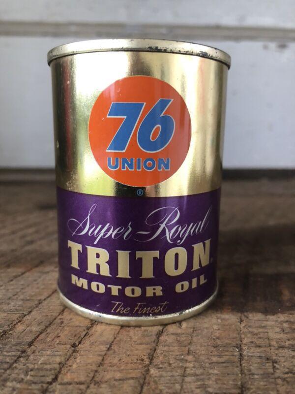 Vintage Union 76 Super Royal Triton Motor Oil Bank Advertising