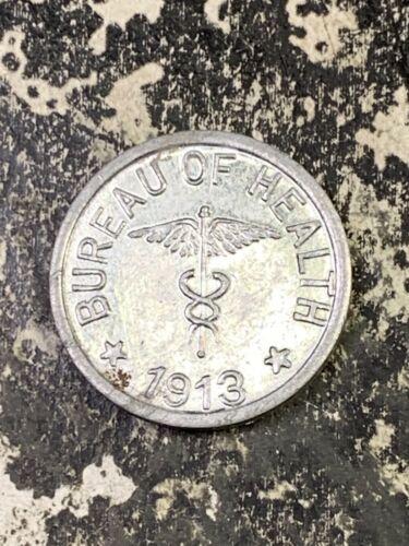 1913 U.S Philippines Leper Colony 1/2 Centavo Lot#Z1084 Scarce!