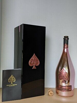 Ace of Spades Rose (Armand De Brignac) 1.5L Magnum Empty Bottle & Box