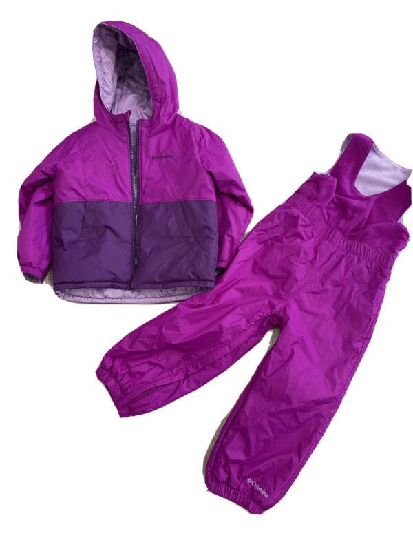 Columbia toddler snowsuit Girls 4T *Excellent Condition*