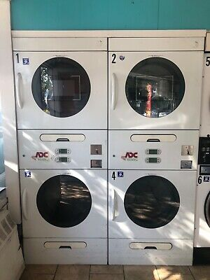 American Dryer Stack Adc 30 Lb Used In A Very Good Condition White Front Load