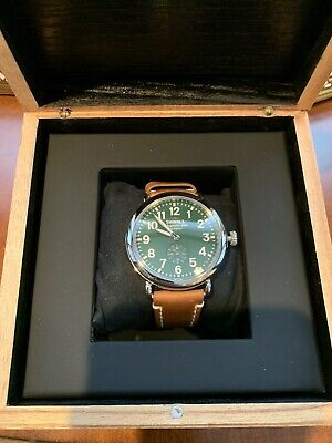 Shinola Runwell 41mm Green Dial