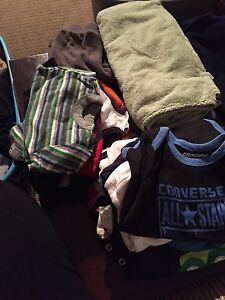 Boys clothes. All sizes from 0-3 to 12 months